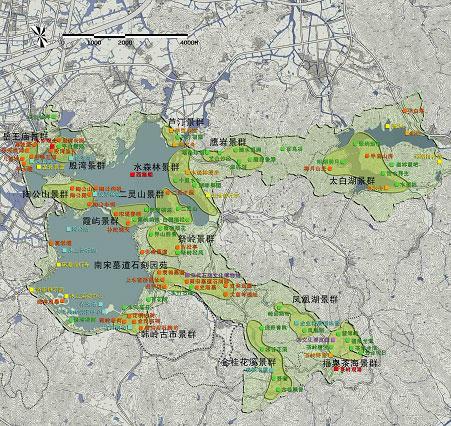 东钱湖风景名胜区规划--中国宁波网-旅游
