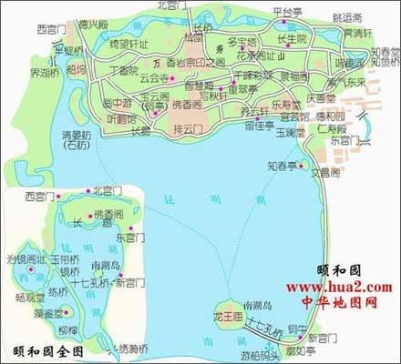 南充市白塔景区地图