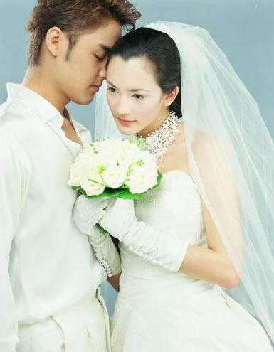 你浓我浓明道唯美婚纱照(组图)--中国宁波网-健