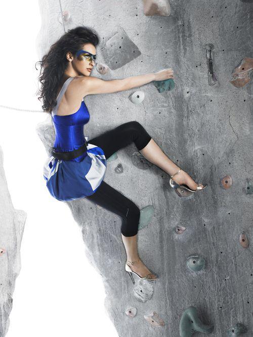 国外攀岩美女动感十足美仑美奂组图