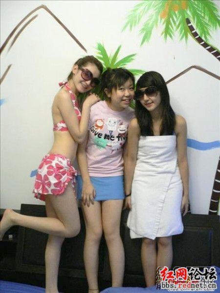 湛江中学女生奢侈渡假照