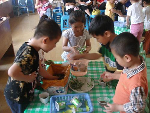 """后塍幼儿园承办市""""体验教学实践研究""""协作活动"""