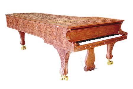 数千万元的极品宁波海伦钢琴运抵北京