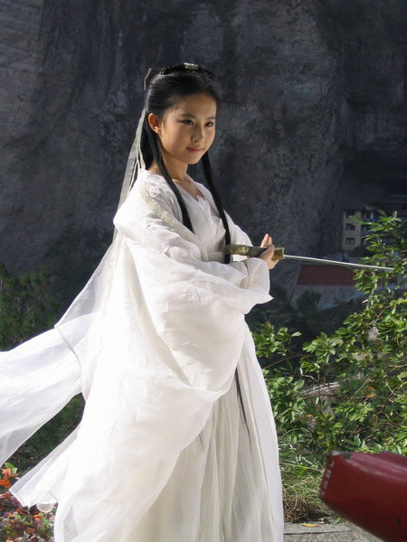 电视剧里谁是第一古装美女(图)-美女-中国宁波
