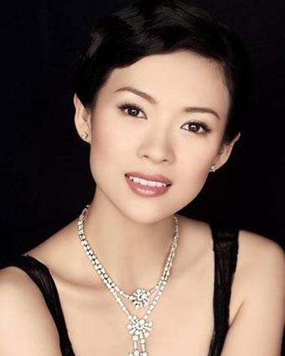 中国明星美女标准大透视图