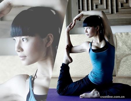 感受运动与美女 长沙健身女教练5年增长30%