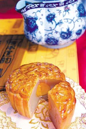 月饼是中秋美食的主角-水边餐厅享受中秋浪漫 组图