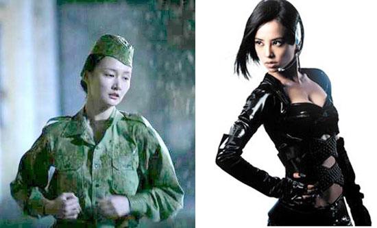 荧幕上最漂亮女特务:周扬 - yuruan - 黎黎影视明星博客
