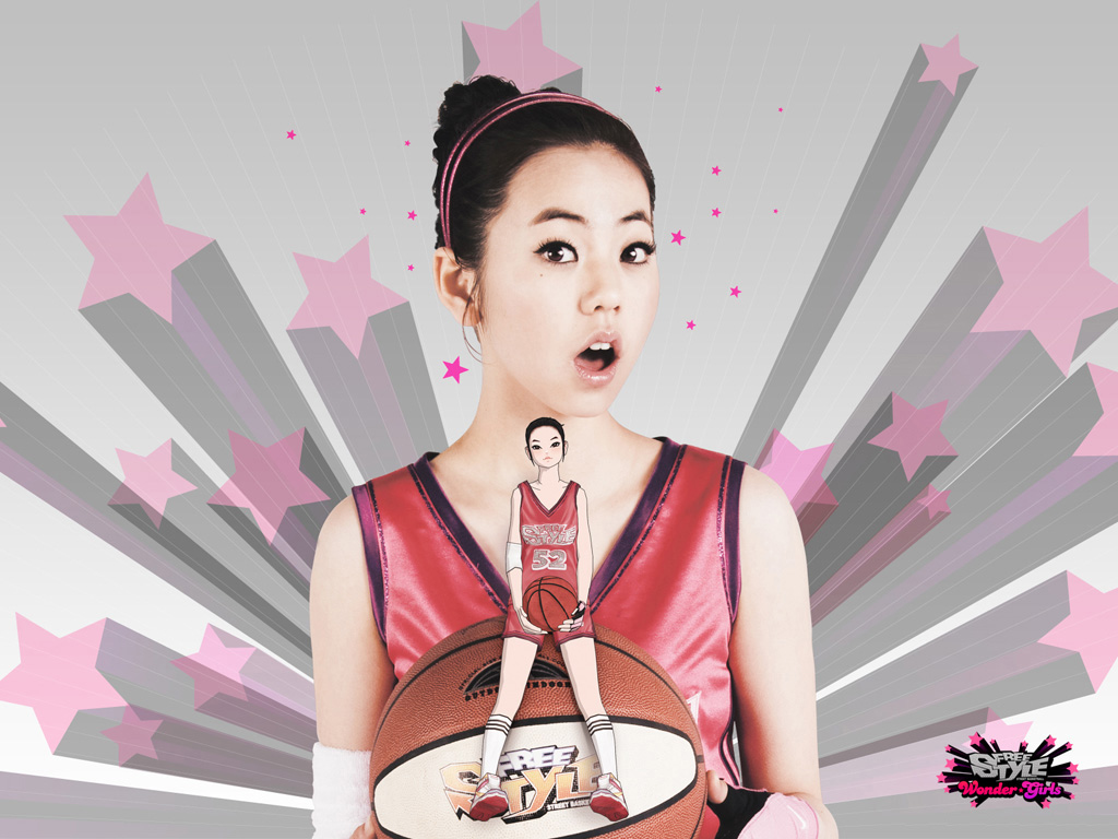 壁纸 美少女 《街头篮球》/街头篮球韩服娇俏美少女代言新春壁纸放送