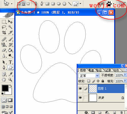 ps轻松绘制简单十字绣图案