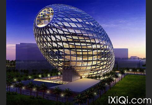 全球9个最稀奇诡异的建筑物图片