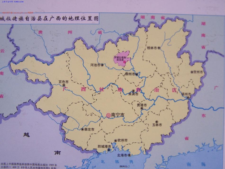 海南广西地图全图