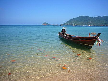 苏梅岛与世隔绝般的纯净自然