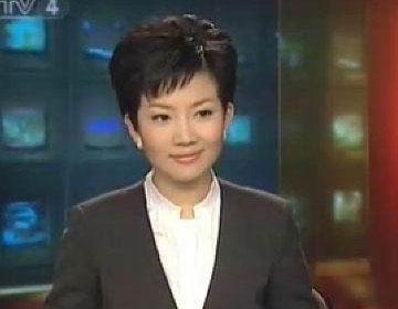 央视四套的美女主持人图