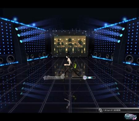 舞蹈 场景 高清晰/晶莹的舞台地面反射效果