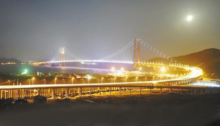 大陆连岛工程将通车; 杭州湾大桥; 舟山金塘大桥