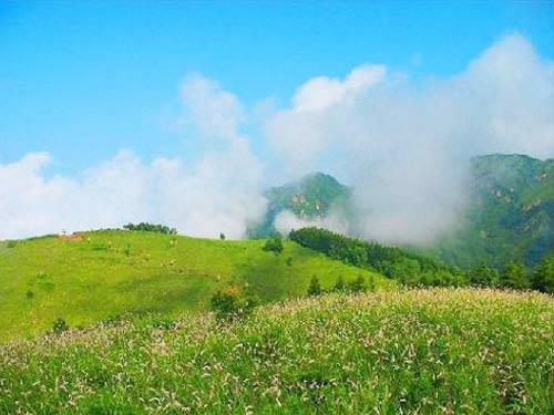 石家庄驼梁-五岳寨景区高清图片