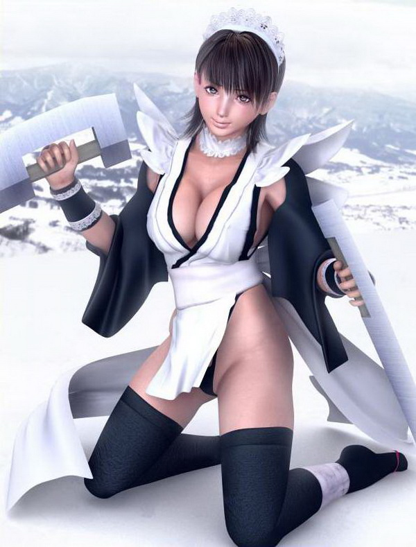 以前曾经上传过一批日本游戏原画师用这种技术做出的