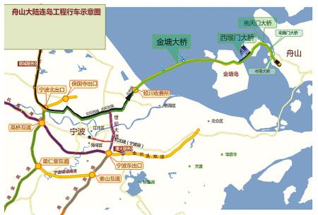 宁波舟山地图高清版