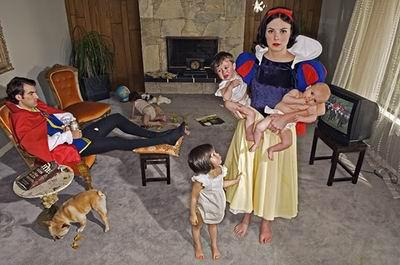 恶搞迪士尼,白雪公主惨遭山寨
