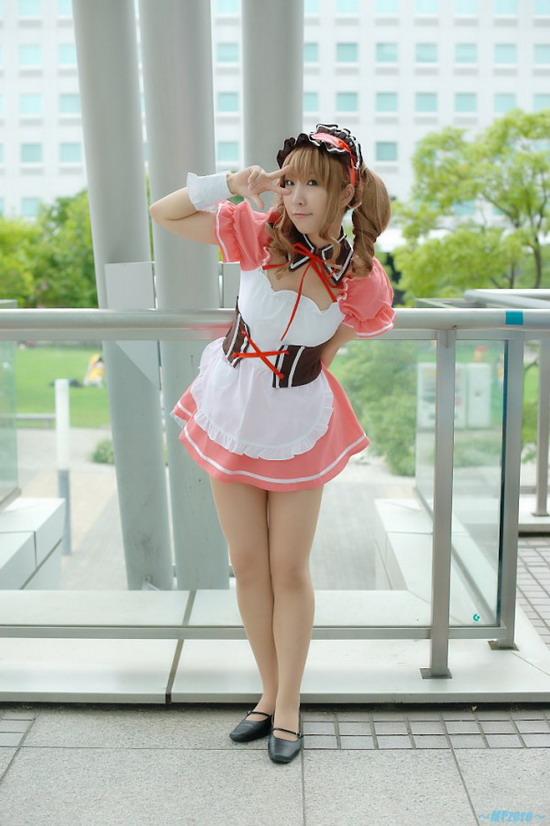 日系美女游戏动漫cosplay赏一