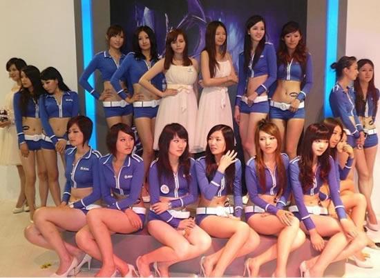 台湾游戏盲目跟风 美女