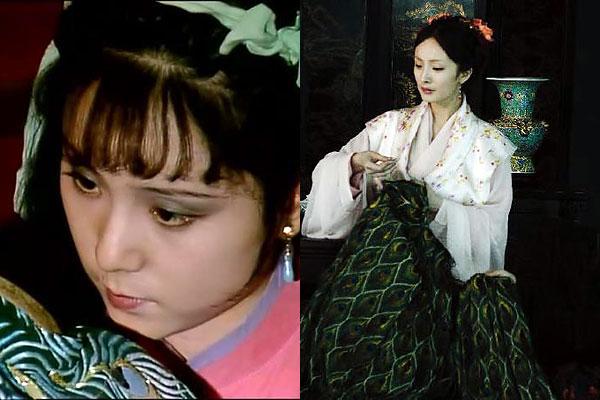 新老《红楼梦》人物剧照对比-红楼梦,pk,杨幂,东方闻