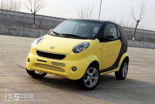 奔驰smart   微型车:双环小贵族   虽然自主品牌在整体品质上高清图片