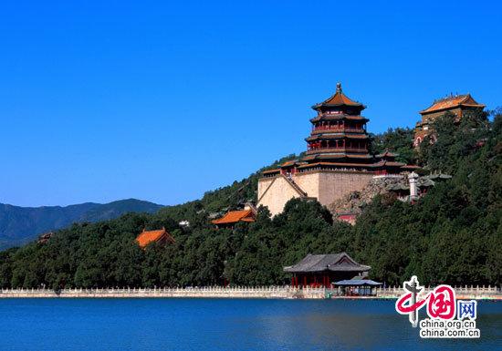 中国园林建筑通廊 中国园林建筑通廊 中国古代建筑