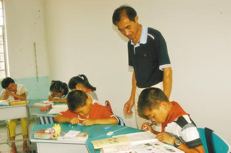 杖锡小学教师应良淼35年多次下山放弃机-学高中分数线龙城图片