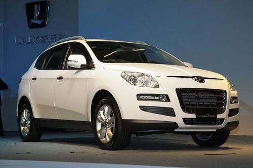 东风裕隆亮相 Luxgen旗下多款车型将投产图片