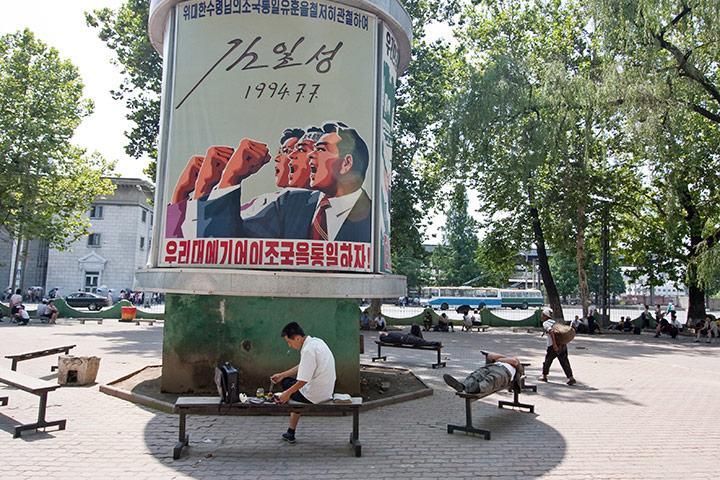 朝鲜罕见的女性生活照-朝鲜