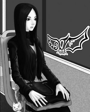 """""""所发""""手绘美女帖""""的持续关注者,感动之余想帮""""kyoshin""""追到这位女生"""