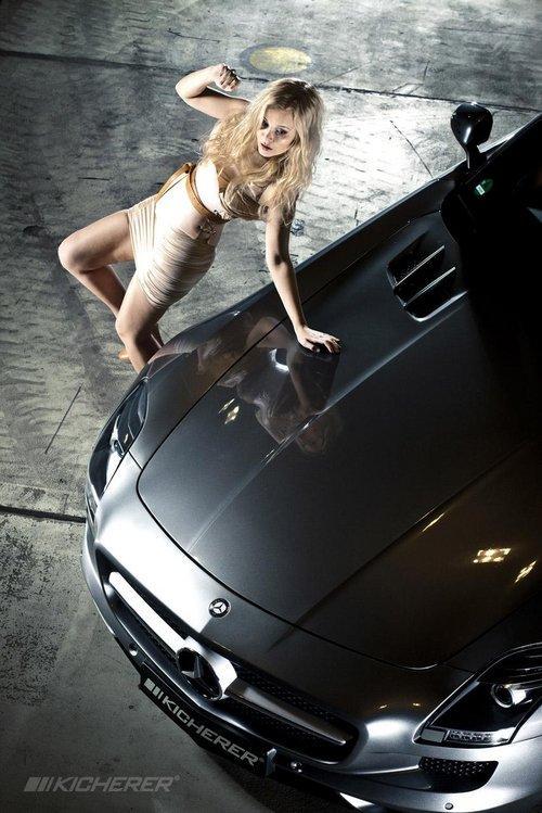 新版美女与野兽 Kicherer改装奔驰SLS SLS