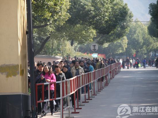 冬至期间杭州扫墓大军超180万 低碳扫墓流行图片 352884 550x413