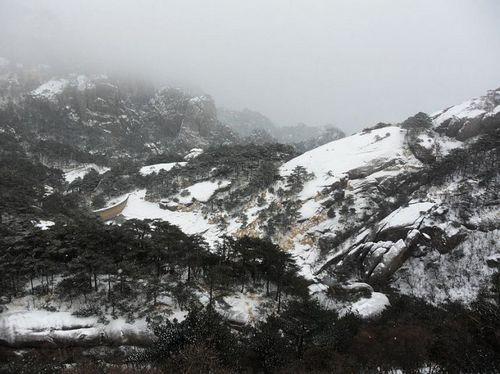 黄山/飘雪黄山黄山异景