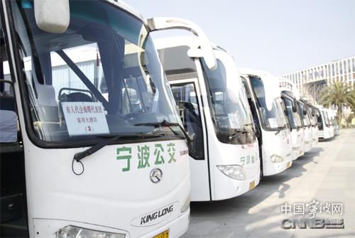 17辆空调车为宁波两会服务