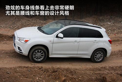 高手 试驾体验三菱进口SUV劲炫高清图片