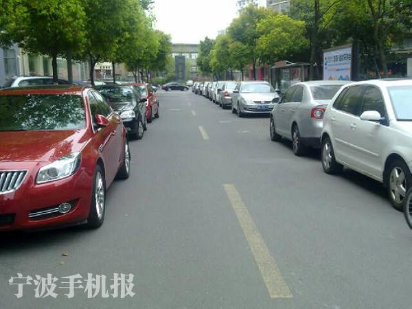 老小区停车难问题凸显--中国宁波网-i拍的