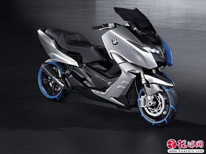 这是宝马的摩托品牌motorrad当年对大型踏板摩