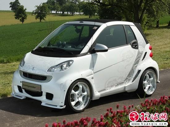 奔驰smart fortwo(双座smart)以及雷诺twingo的上市时间.原计高清图片