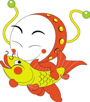 中的鲤鱼,寓意年年有余.-拨浪鼓 敲响 国际歌 它是国内展会首个吉