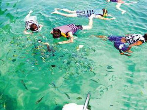 """最佳的海钓地点,当数有着""""海上的香格里拉""""之称的斯米兰群岛国家海洋"""