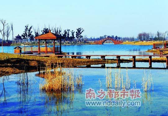 苏州太湖湿地公园图片