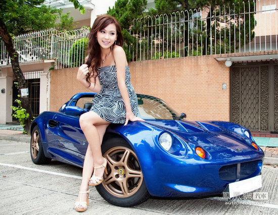 美女车模人比花娇无敌性感美女图片