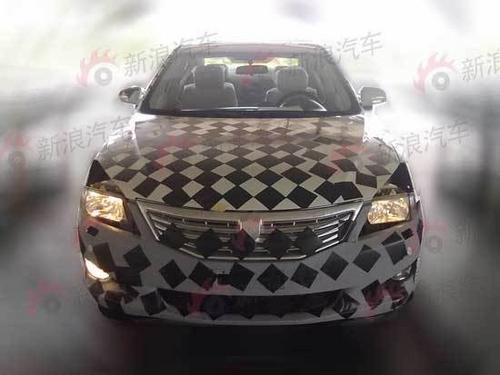 明年北京投产 长安中型车CD101谍照曝光高清图片