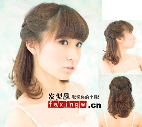 头发的各种扎法 头发 扎法 头发 马尾辫图片