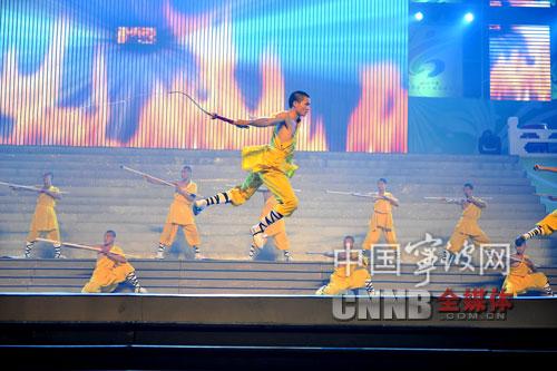 嵩山少林塔沟武术学校带来的武术表演