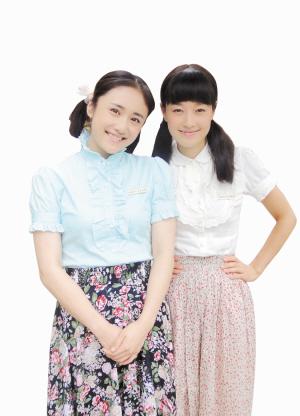 记者 庞锦燕刘芸和马伊俐一对辣妈很合得来