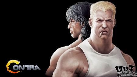 ...的射击游戏游戏中两名主角的原型来自欧美影星施瓦辛格和史...